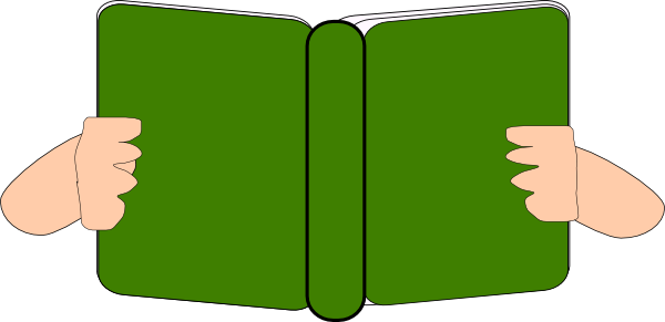 Book books green book. Clipart free download best