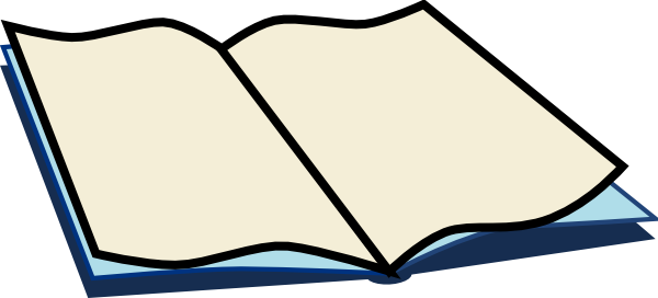 Book art at clker. Open clip clip freeuse download