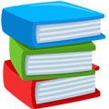 Books emoji png. On messenger