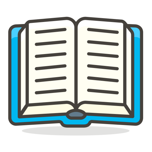 Book emoji png. Open icon free of