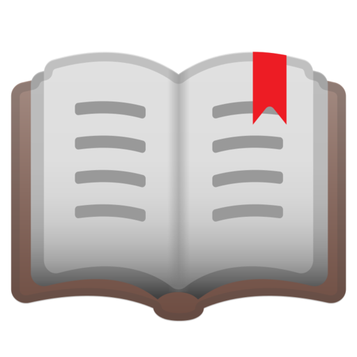 Book emoji png. Google android pie