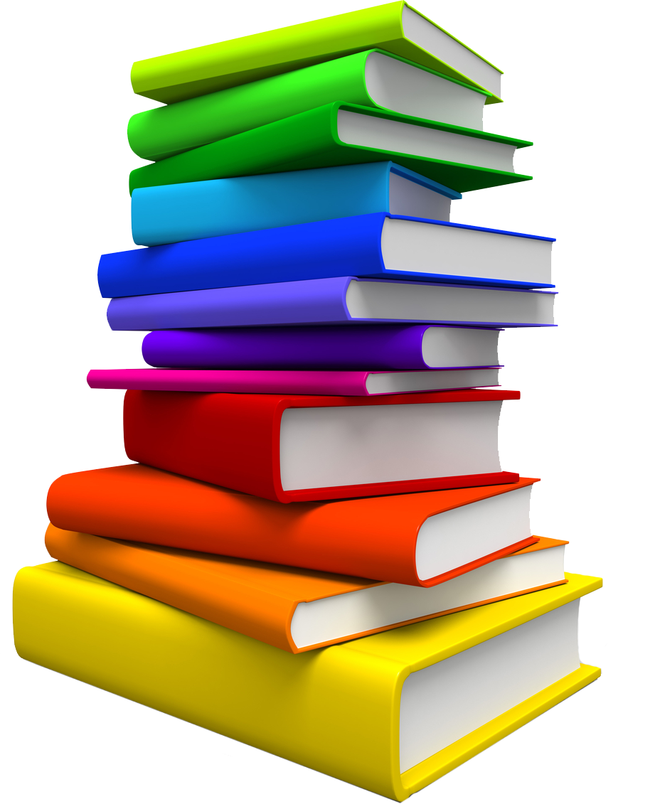 Pile of books png. Book segr publishing related