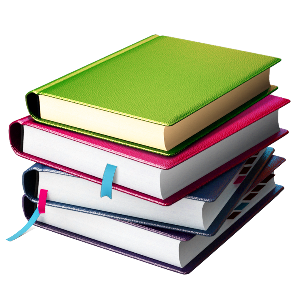stack of books png