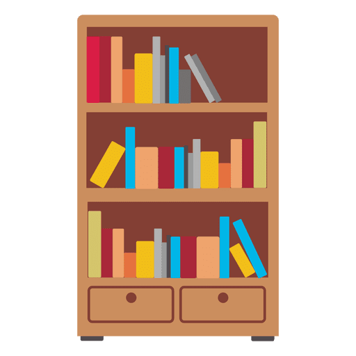 Wood vector png. Wooden bookshelf icon transparent