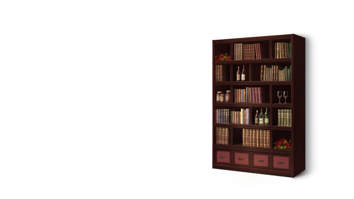 Books on shelf png. Image romance bookshelf bungo