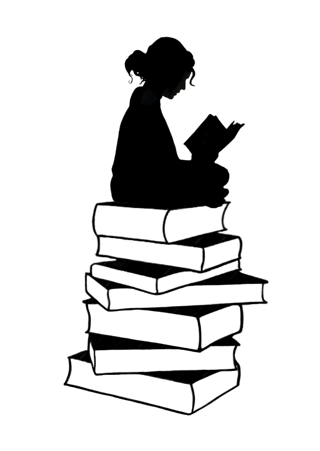 Book silhouette png. Pin by tselha on