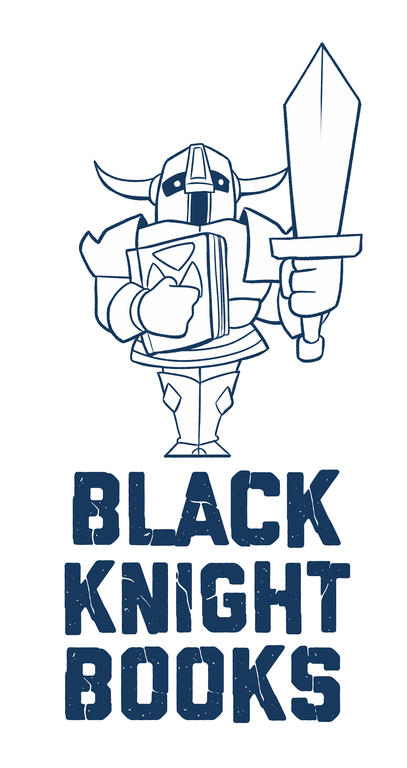 Book spine cartoon png. Black knight books on