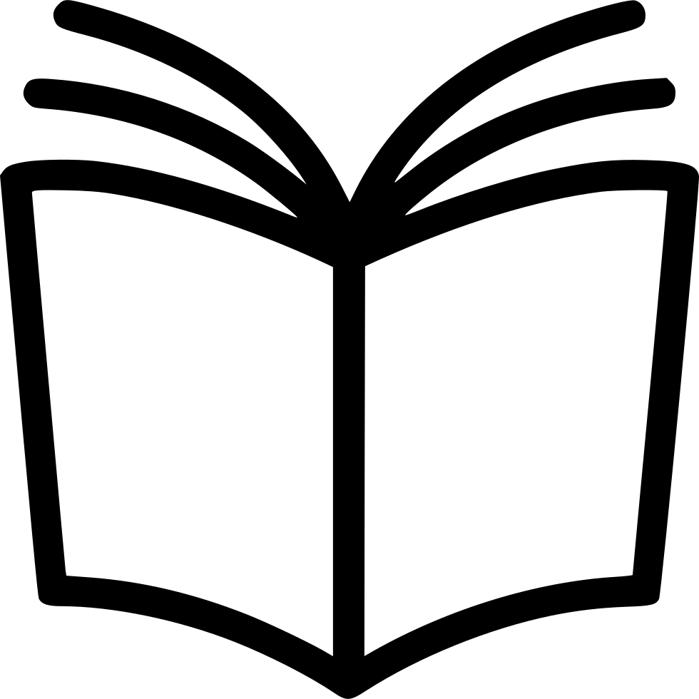 Book writing png. Reading read manual svg