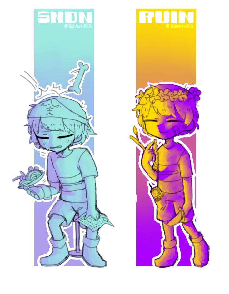 Bookmark drawing adorable. Undertale bookmarks by bountiper