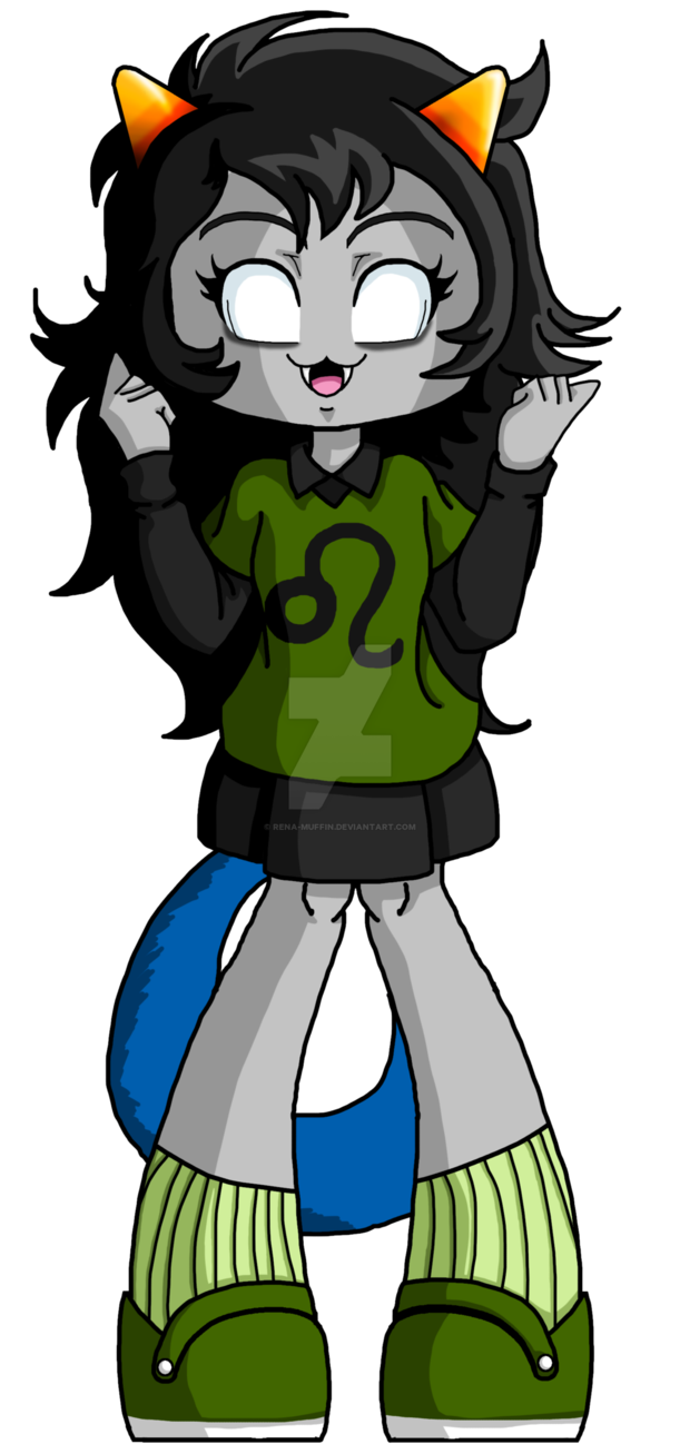 Bookmark drawing character. Meulin by rena muffin
