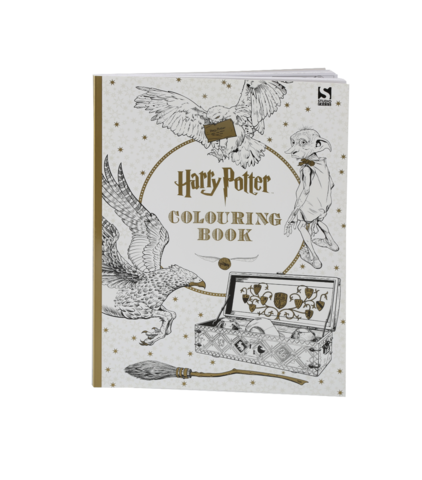 Newt drawing book. Products harry potter colouring
