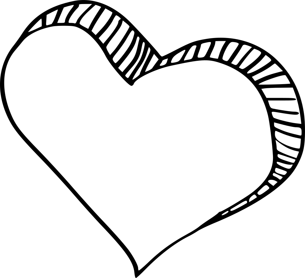 bookmark drawing heart