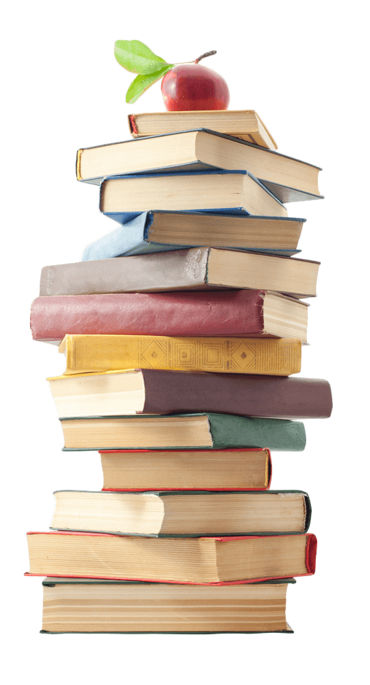 Books and apples png. Literary consulting services story