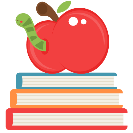 Books and apples png. Apple on svg scrapbook