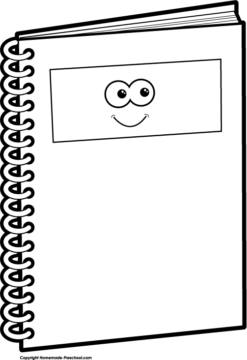 Books clipart notebook. Note book png black