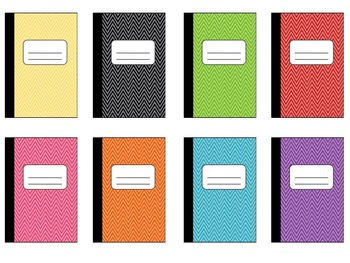 Books clipart notebook. Cute composition book by