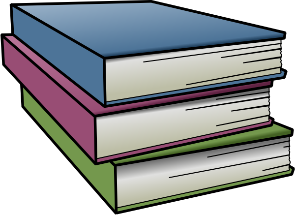 Books clipart png. Clip art at clker