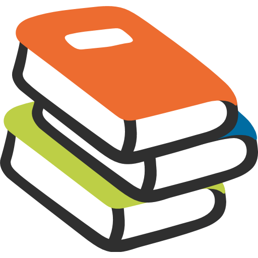 Books emoji png. For facebook email sms