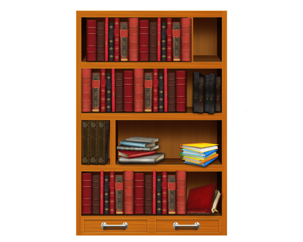 Books on shelf png. Bookshelf by moonglowlilly deviantart