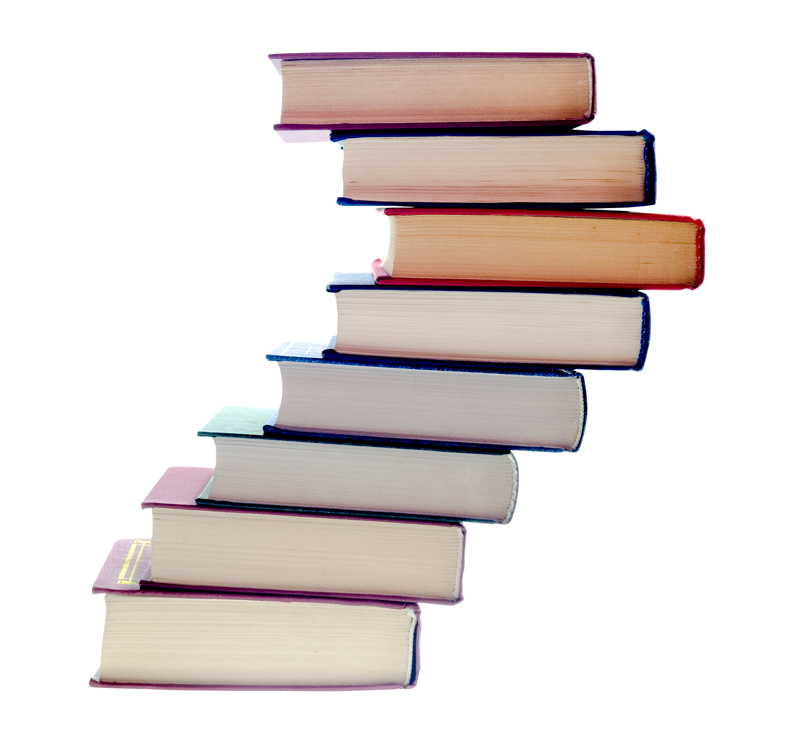 Books png. Stack of image transparent