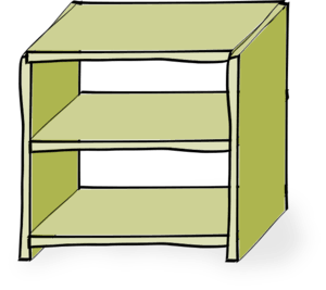 Clipart at getdrawings com. Bookshelf clip empty jpg black and white download