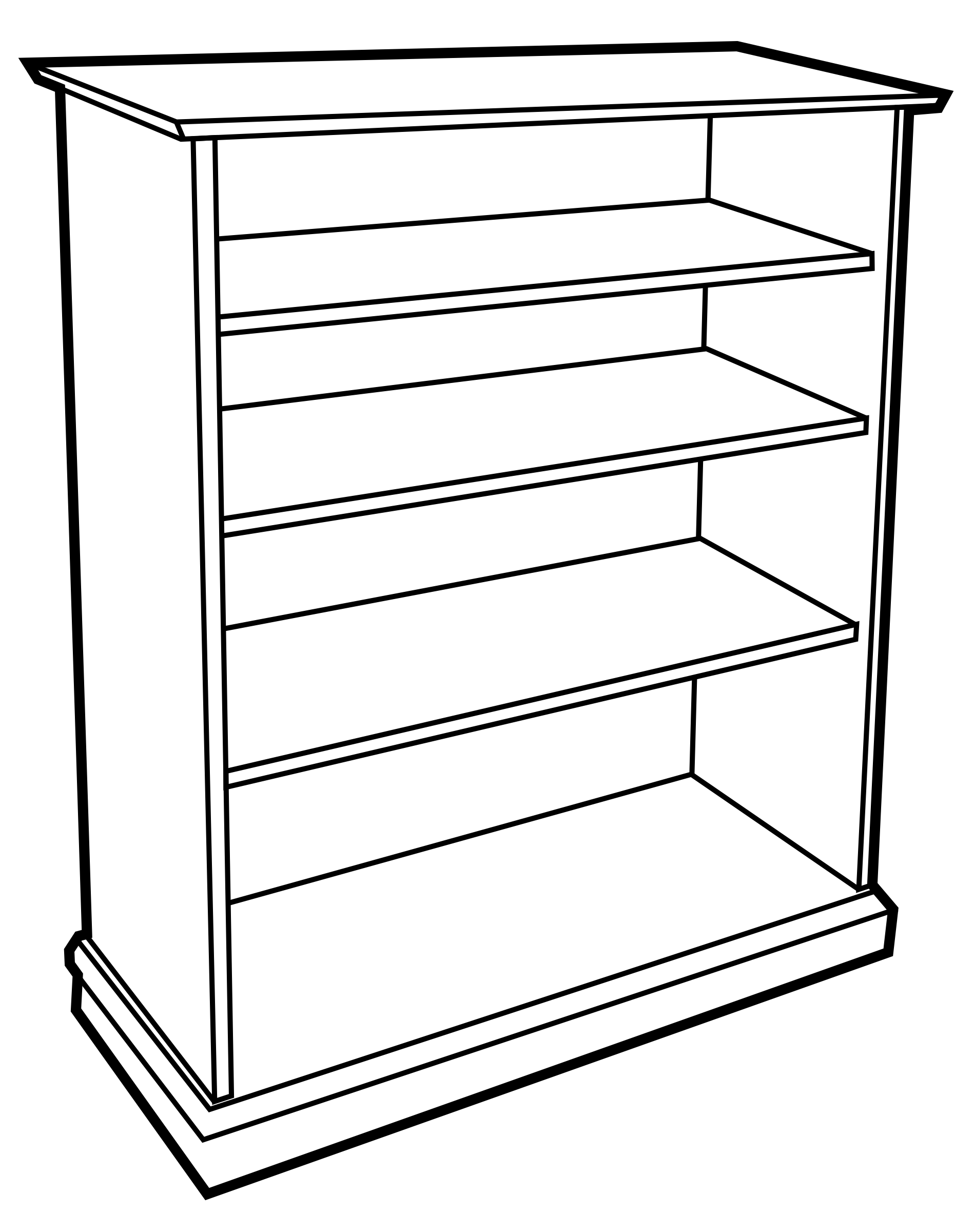 Bookshelf clip pallet rack. Warehouse jpg free