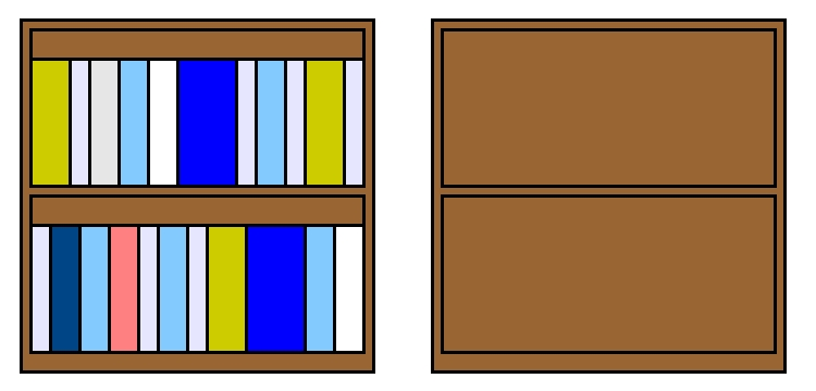 Bookshelf Clipart Empty Pantry Bookcase Cupboard Make Cliparts Clip Art Library