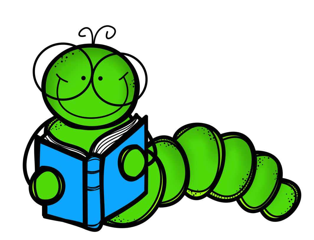 bookworm clipart animated