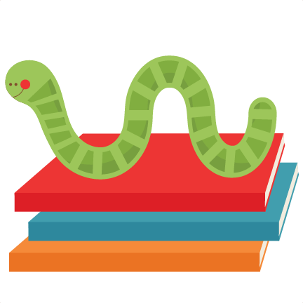 Worm clipart cute. Free book png transparent