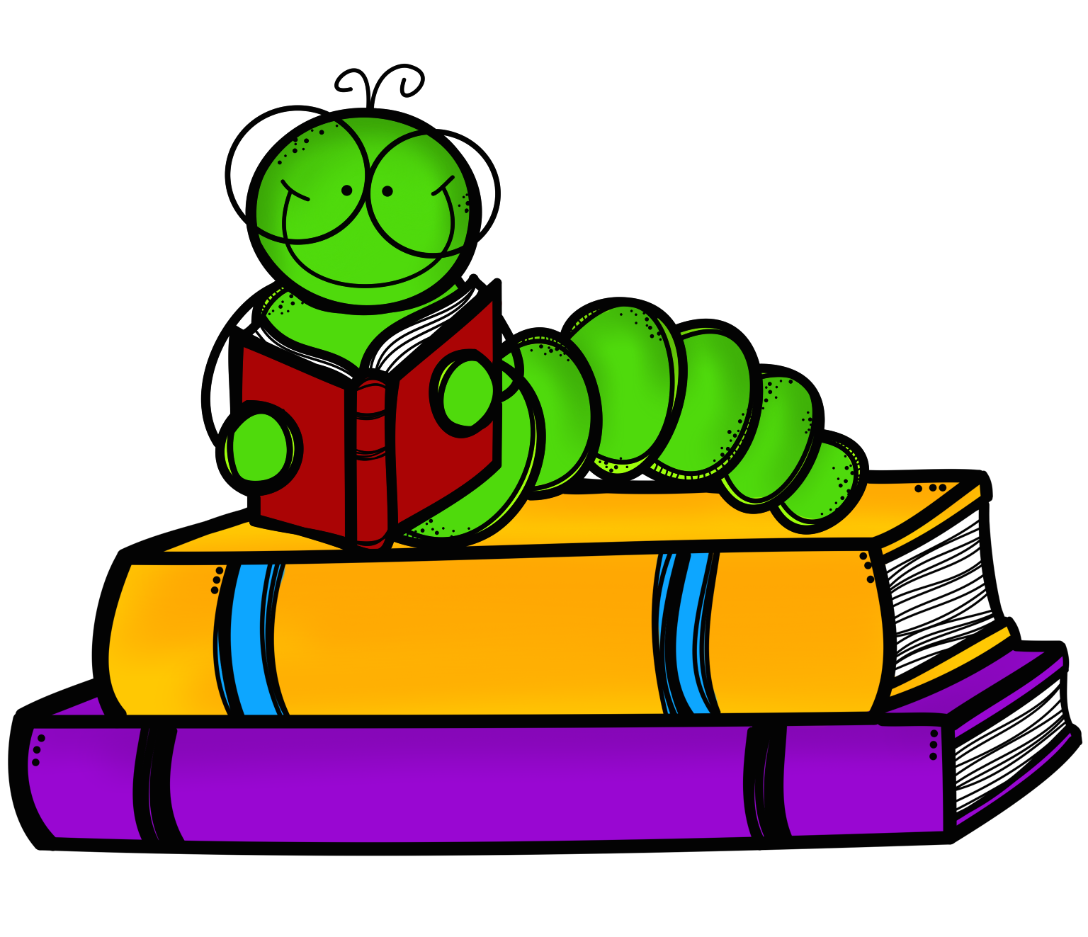 Bookworm clipart preschool book. Stack cliparts add cool