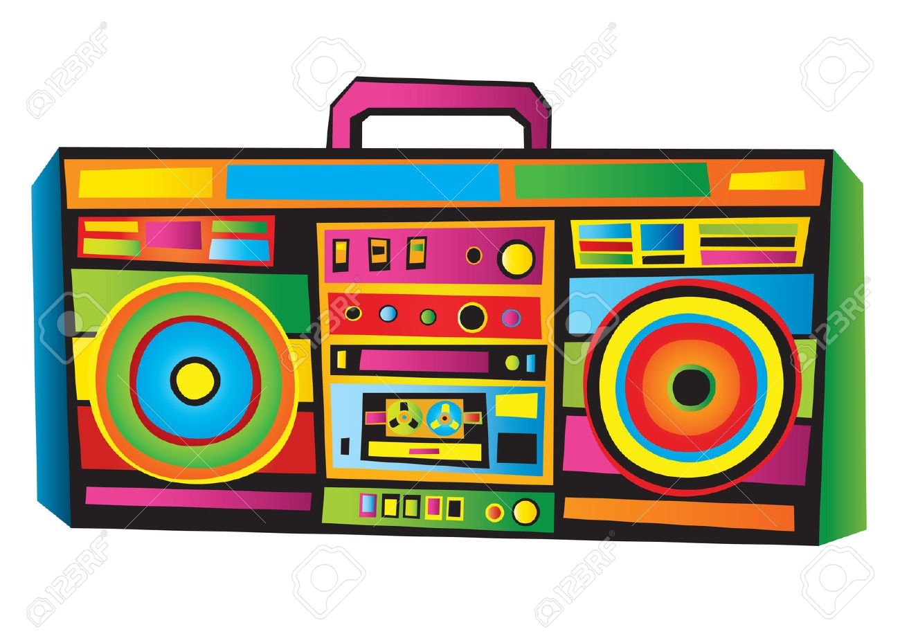 Boombox clipart. Fresh gallery digital collection