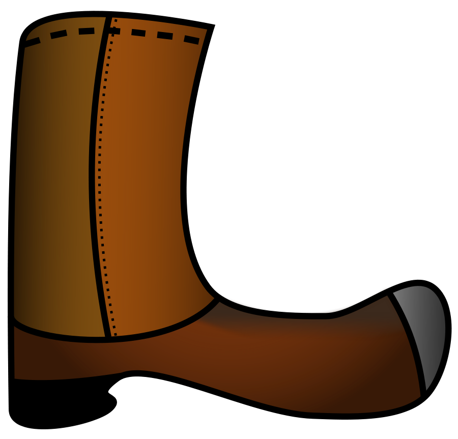 Boot clipart boat shoe. Boots and
