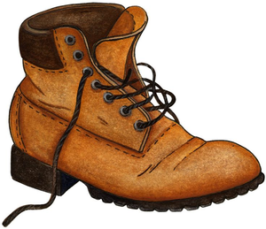 Hiking free images at. Boot clipart clip art stock