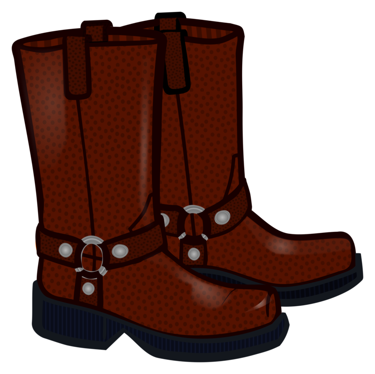 Motorcycle clothing cowboy free. Boot clipart boat shoe jpg royalty free library
