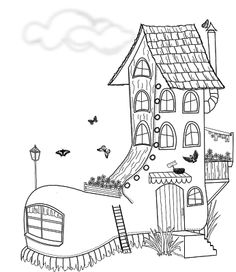 Boot clipart boot house. Zoe s craft blog