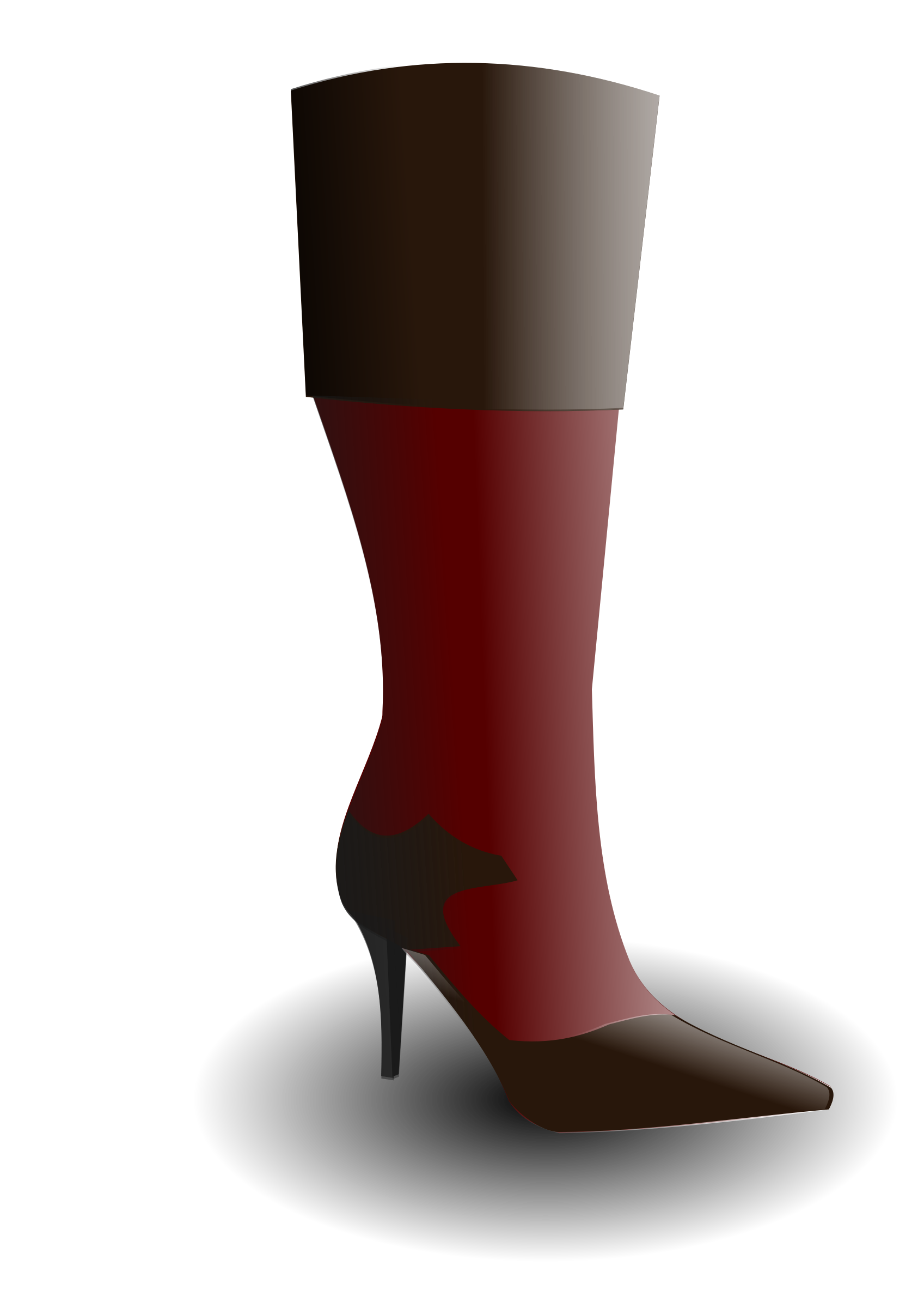 Boot clipart high boot. Big image png