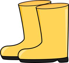 boot clipart rain jacket