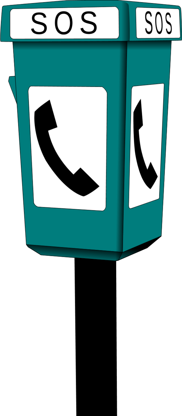 Booth clipart booth design. Phone with sos