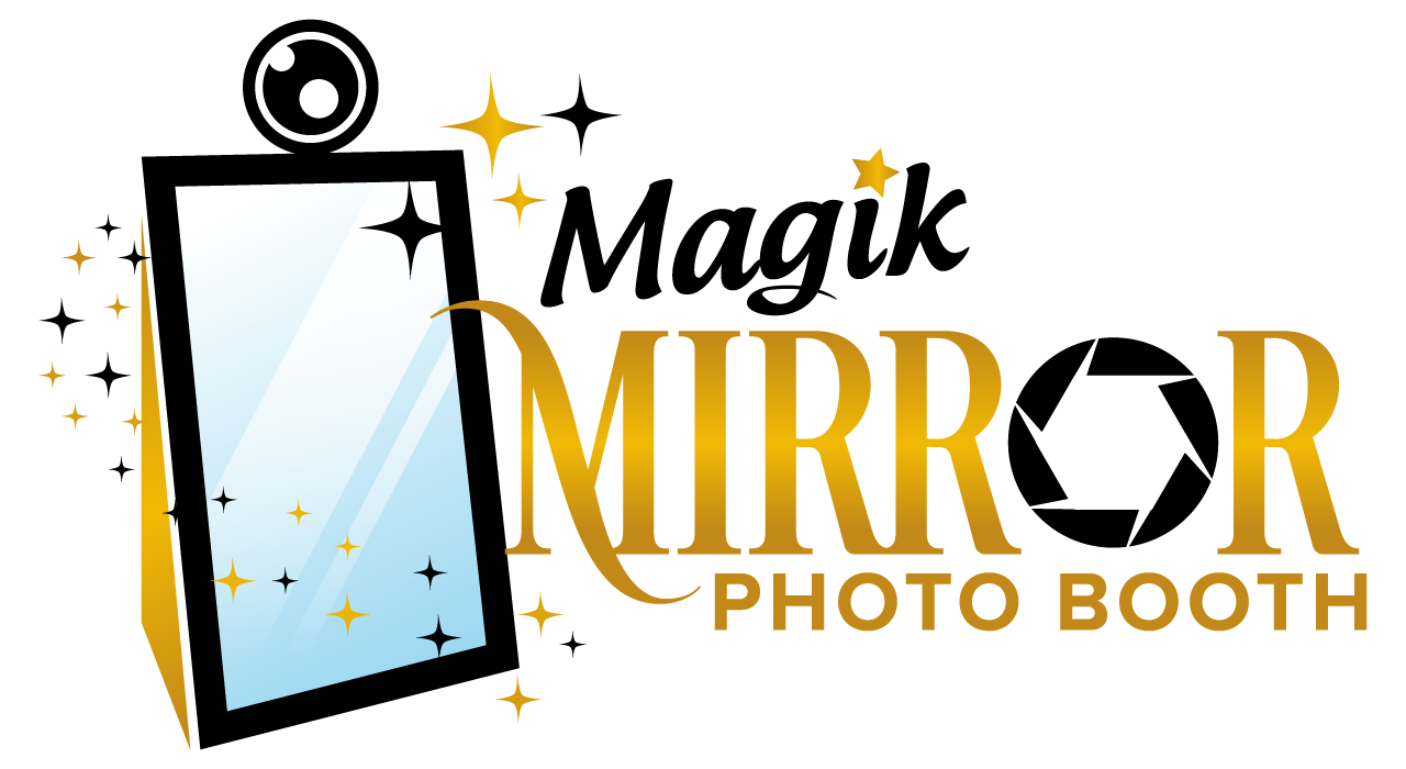 Booth clipart booth design. Magik mirror photo