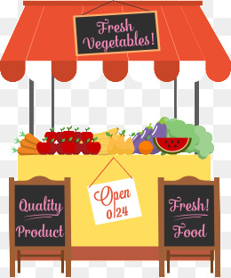booth clipart food sale