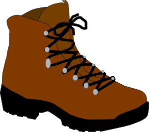 Boots clipart. Hiking boot clip art