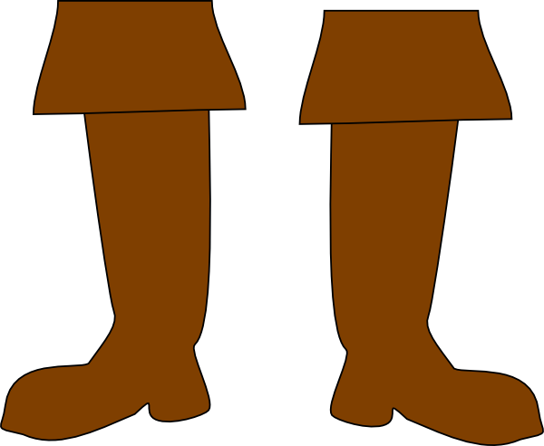 Boots clipart png. Brown pirate clip art
