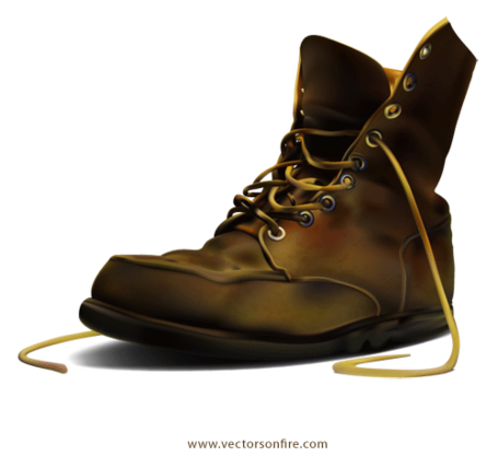 Boot clipart army boot. Free by irmi arieli