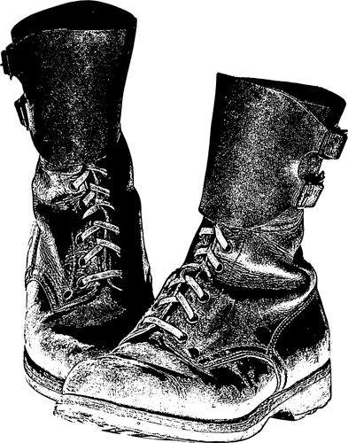 Boots clipart transparent background. Combat military shoes png