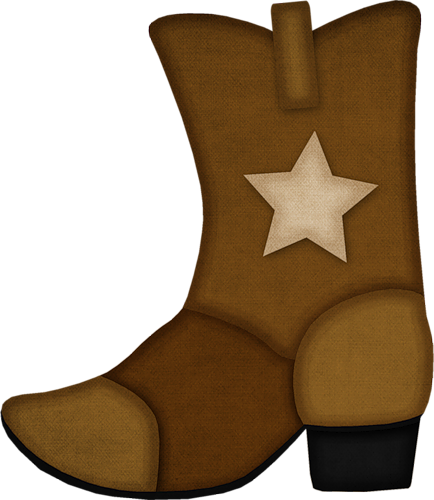Cowboy boot png. Boots and hat clipartable