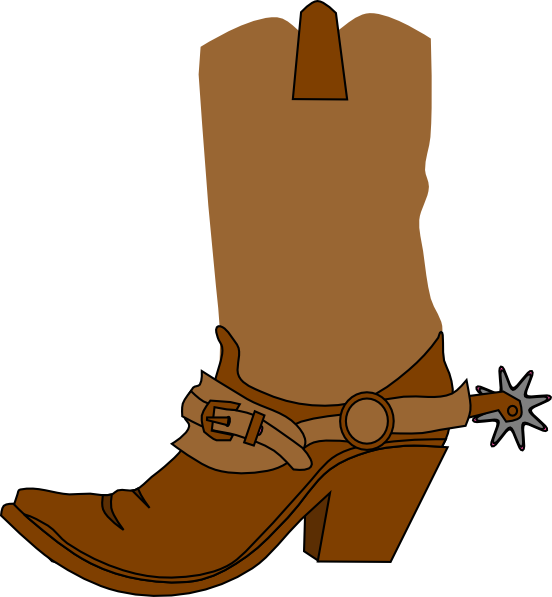 Hc clip clipart. Free western boot cliparts