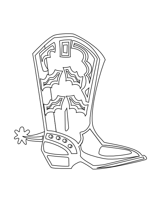 Boots svg draw cowboy. Pair of clip