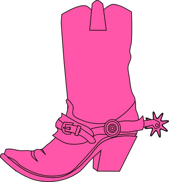 Boots svg hat. Cowgirl and boot clip