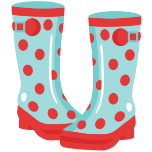 Rainboots cutting file for. Boots svg girl drawing vector library stock