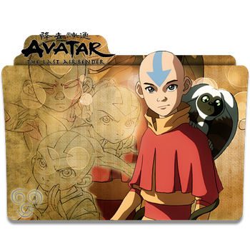 Booty transparent avatar the last airbender. V aang icon folder